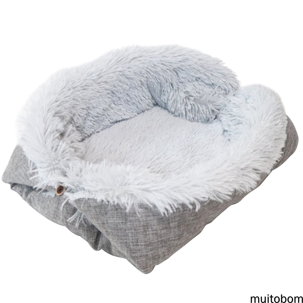 Dual-use Soft Bed Nest Or Mat House Pet Beds for Small Medium Large Dogs Cat Bed