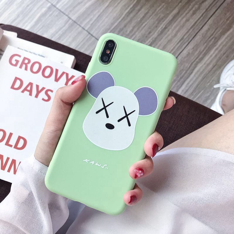 Iphone 11 Pro Max Cute Kaws Matte Case Iphone X Xs Max Xr 8 7 6 6s Plus Fashion Mobile Cover Shopee Philippines