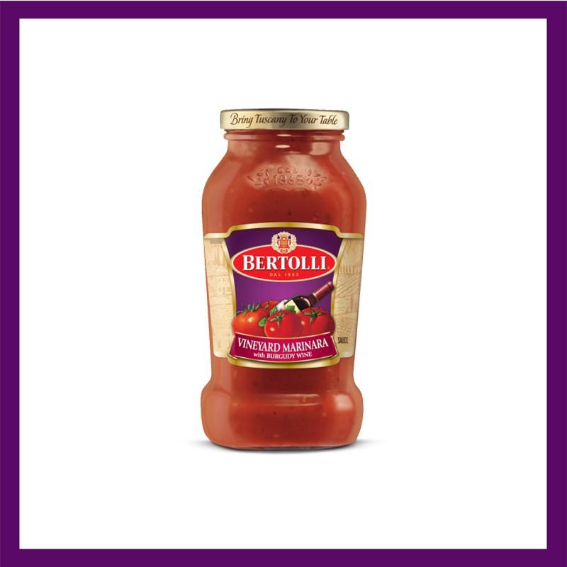 Bertolli Vineyard Marinara With Burgundy Wine Pasta Sauce 680g Shopee Philippines