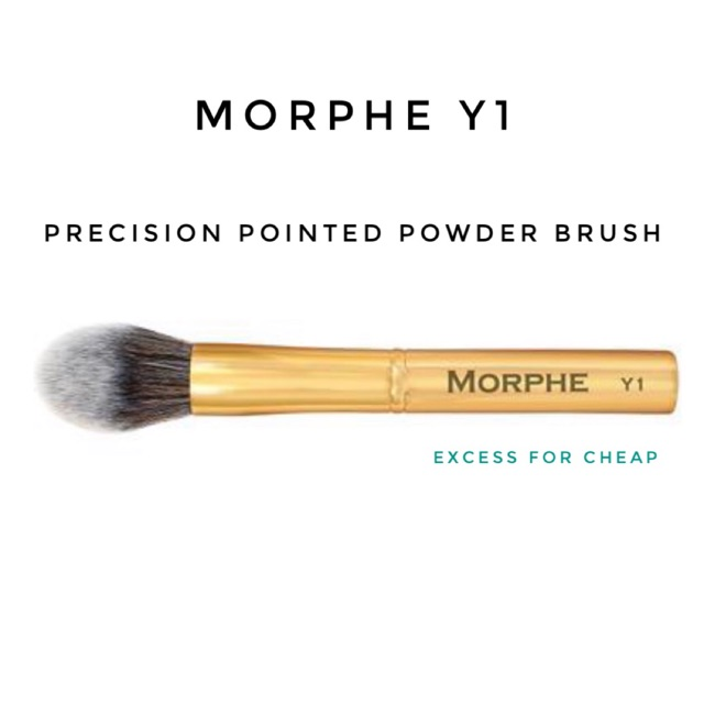 Morphe Y1 Precision Pointed Powder Brush Au T H E N T Ic Shopee Philippines Morphe provides high quality, cruelty free products without the high price tag! morphe y1 precision pointed powder brush au t h e n t ic