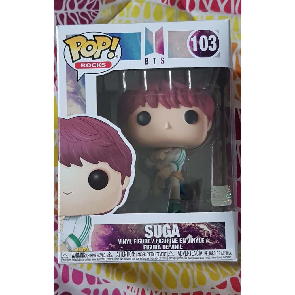 Funko Pop! Rocks #103 BTS Suga | Shopee Philippines