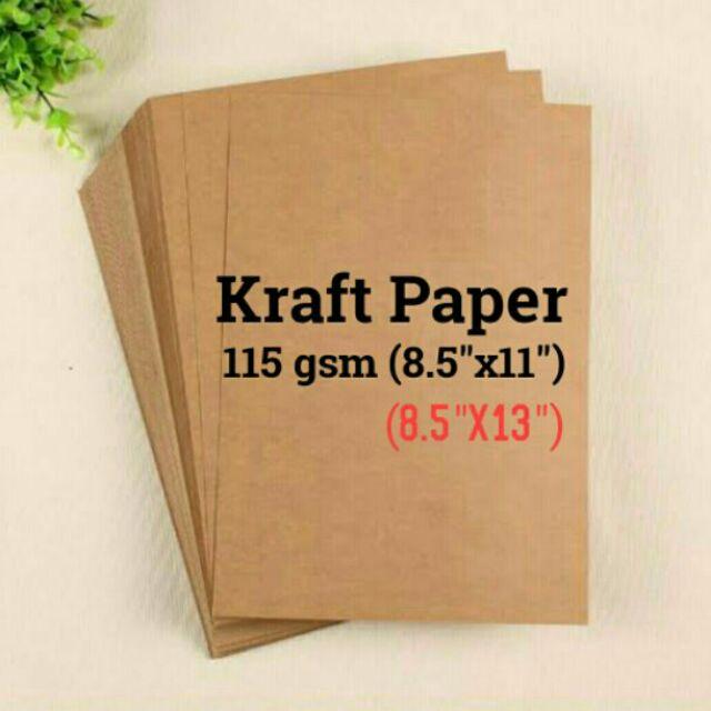 KRAFT PAPER 115 gsm (20pcs)