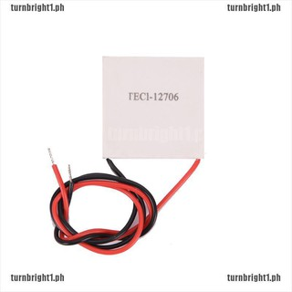 2PCS TEC1-12706 Heatsink Thermoelectric Cooler Cooling Peltier Plate Module z3