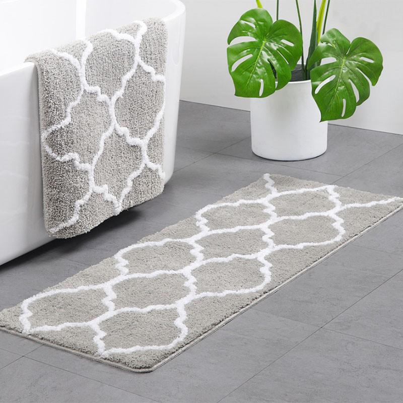 Decorative Non Slip Microfiber Doormat