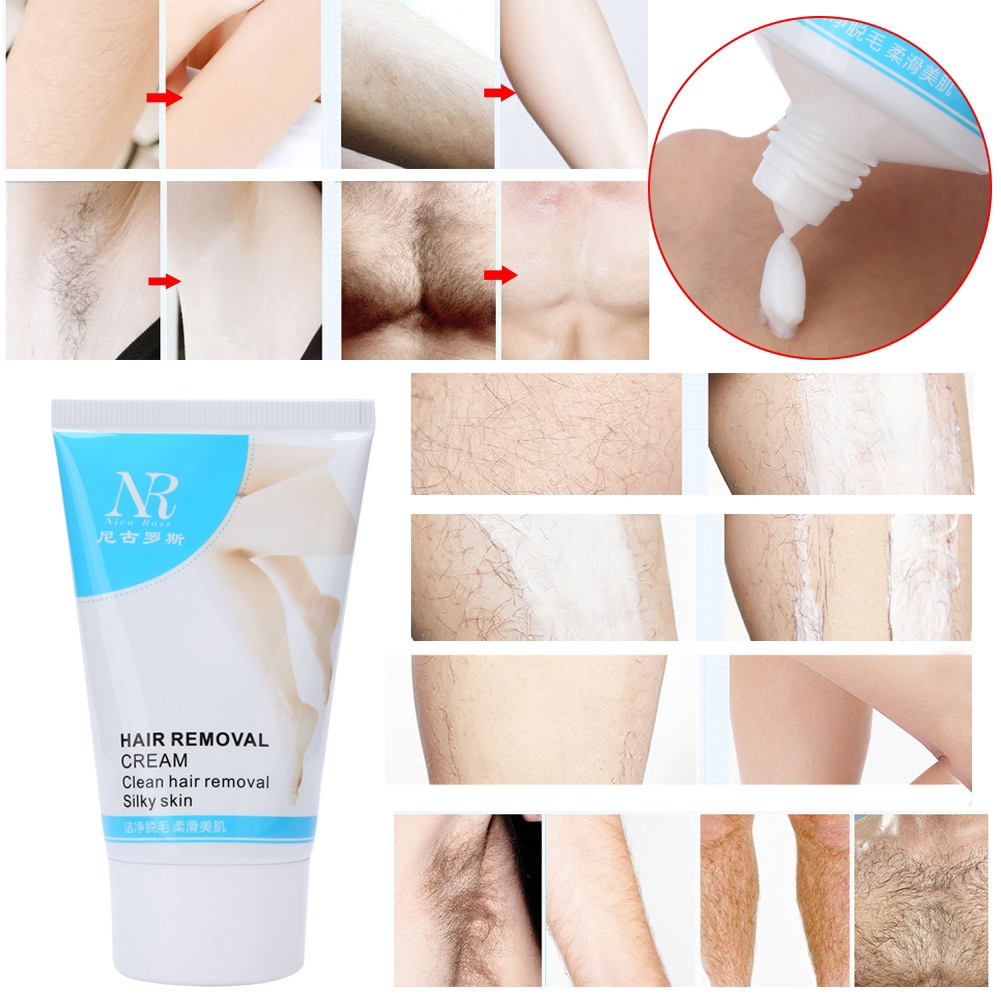 Unisex Hair Removal Cream Armpit Legs Pubic Underarm Body Shopee
