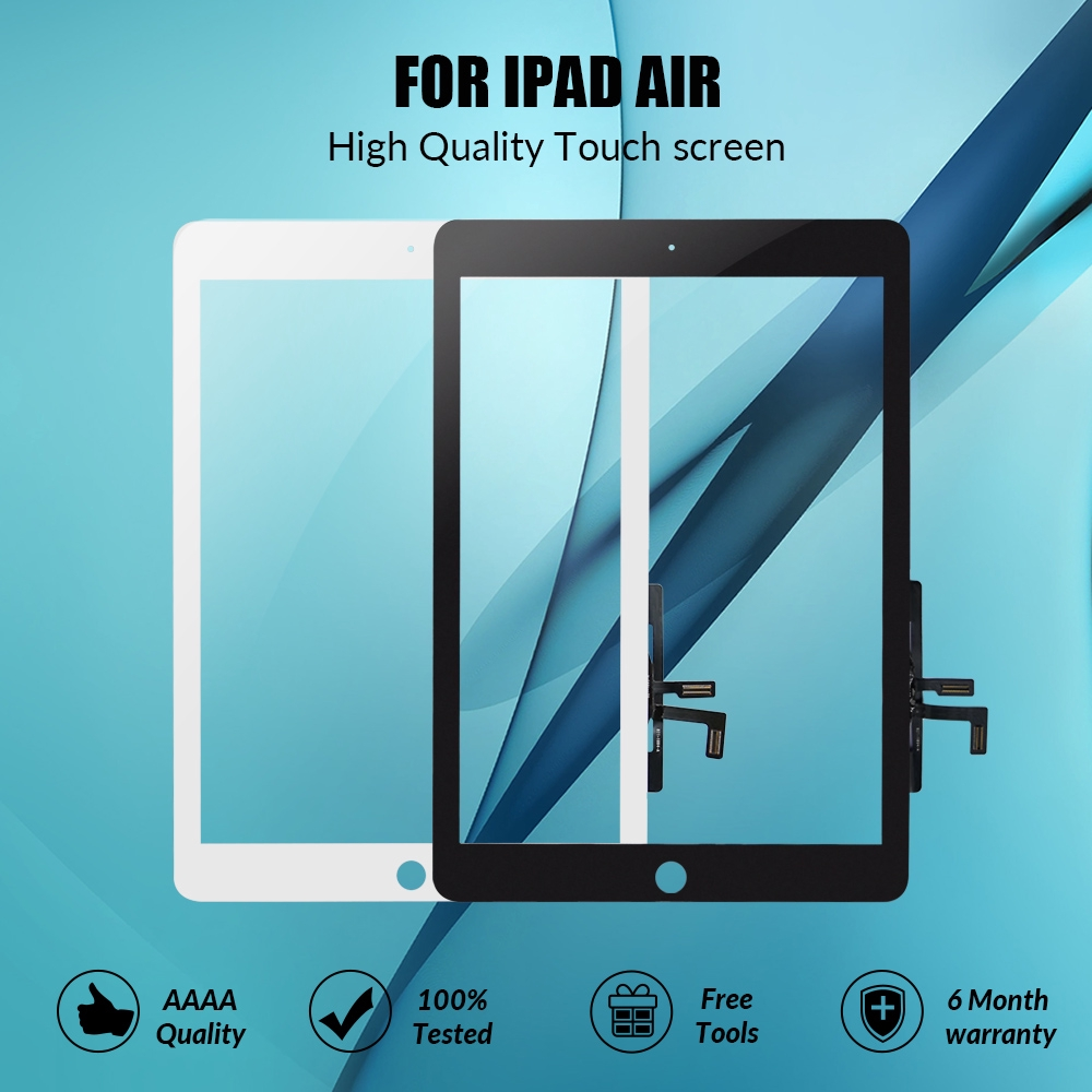 Front Touch Screen Glass Digitizer Replacement For Apple iPad Air 1 A1474 A1476