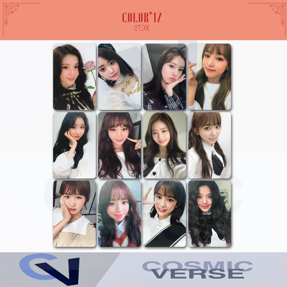 IZONE IZ*ONE COLOR*IZ ALBUM REPLICARD PHOTOCARD