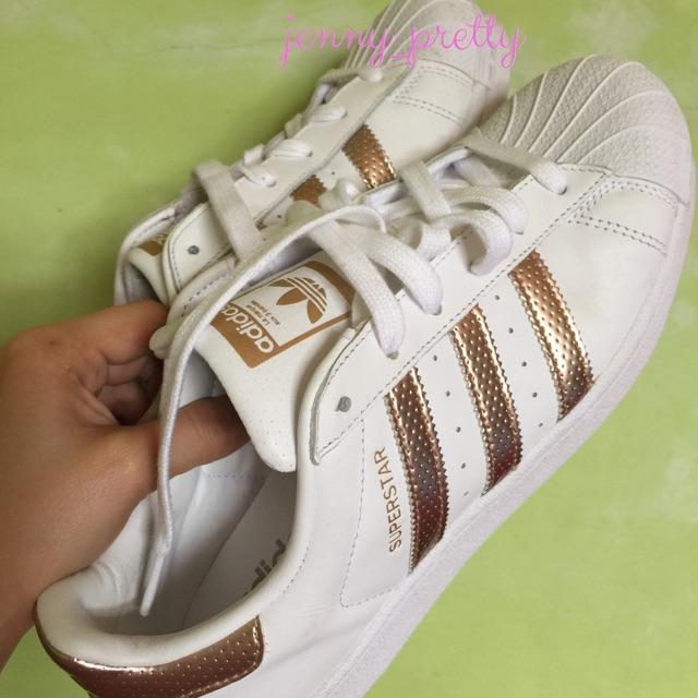 Original Adidas Superstar Rose Gold   Shopee Philippines