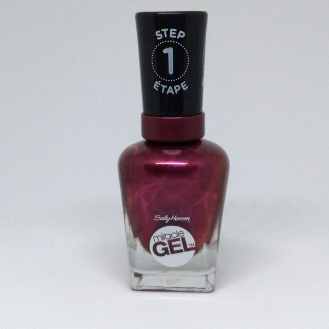 Sally Hansen Miracle Gel Nail Color, Frosted Berries, , Gel polish