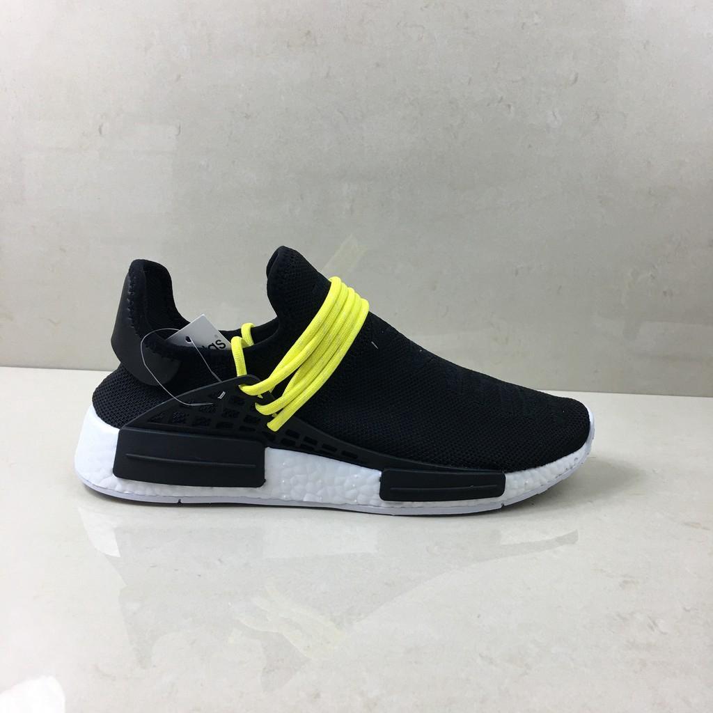purchase cheap 94291 06b9b x adidas NMD Human Race Men Women Running Shoes Original Sports Shoes Black  Gold