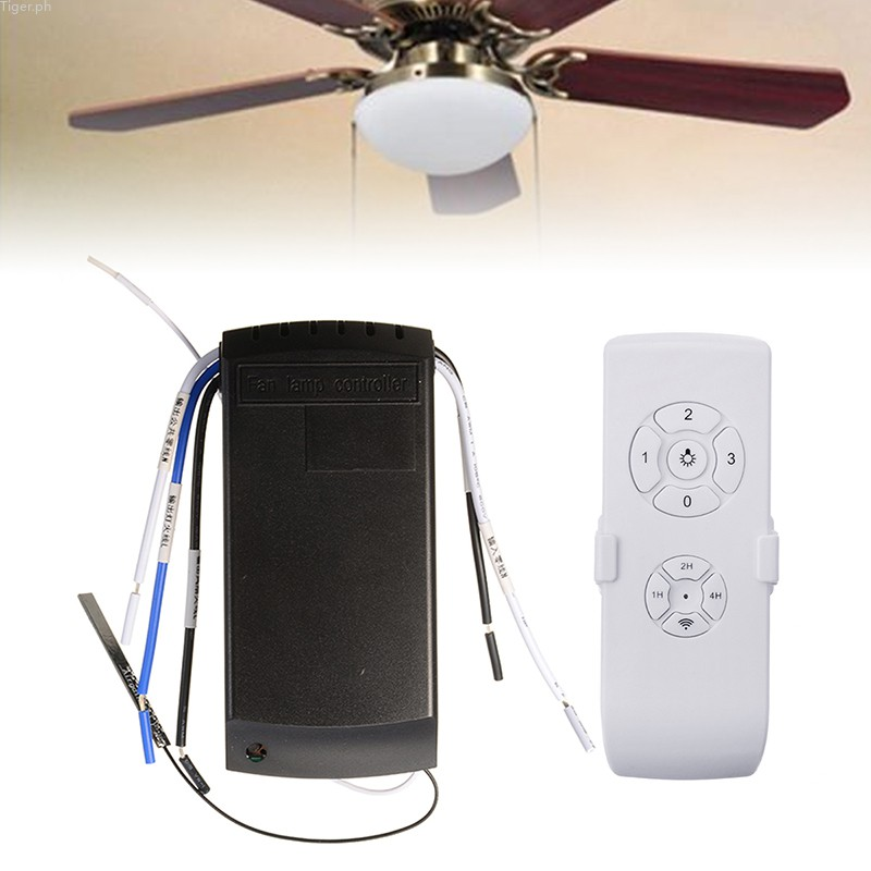 Tiger Rf App Wireless Remote Controller Switch For Ceiling Fan Lamp Universal Shopee Philippines
