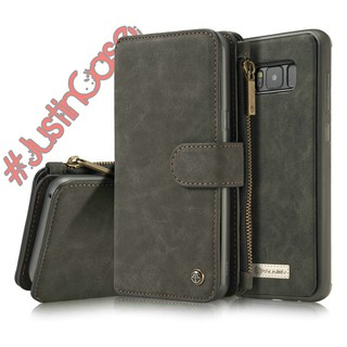 detailed look f5813 dad6e Samsung Galaxy S8 and S8+ Premium Leather Wallet Case | Shopee ...