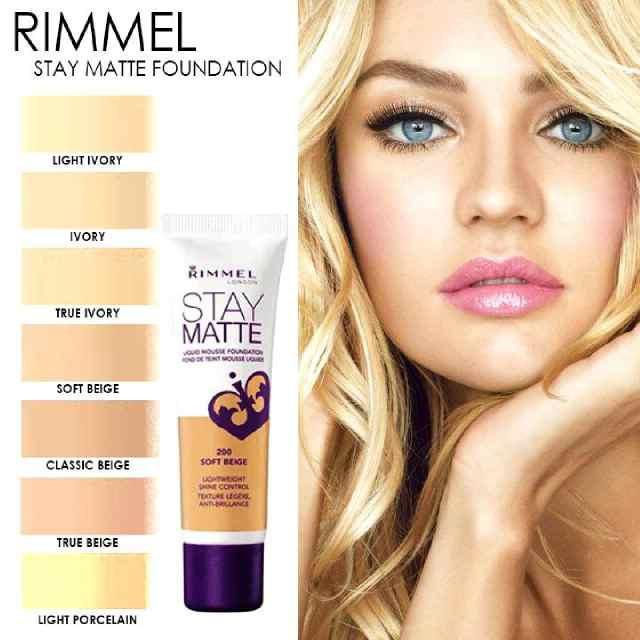 Rimmel STAY MATTE Liquid Mousse Foundation, Authentic | Shopee Philippines