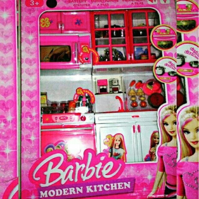 Barbie Modern Kitchen Playset Shopee Philippines