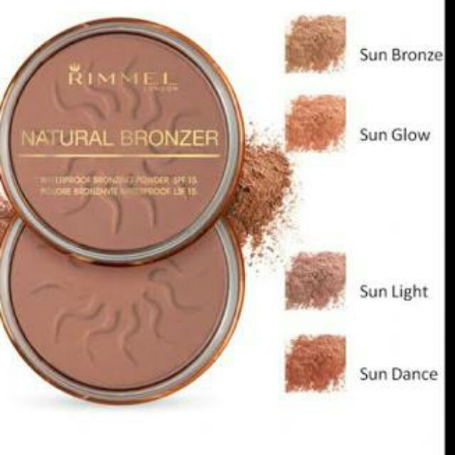 Rimmel NATURAL Bronzer AUTHENTIC | Shopee Philippines