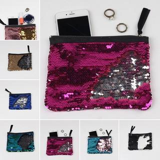 e70036f3c6 CY Reversible Mermaid Sequin Glitter Fanny Bag Handbag Pouch Purse ...
