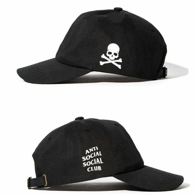 408bf7980f3 Paranoid Undefeated Anti Social Social Club Dad Hat Cap