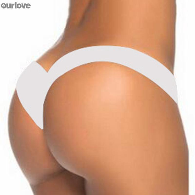 Briefs Bikini Bottoms Swimwear Trunks V-Shape G-String Cheeky Plus Size Women