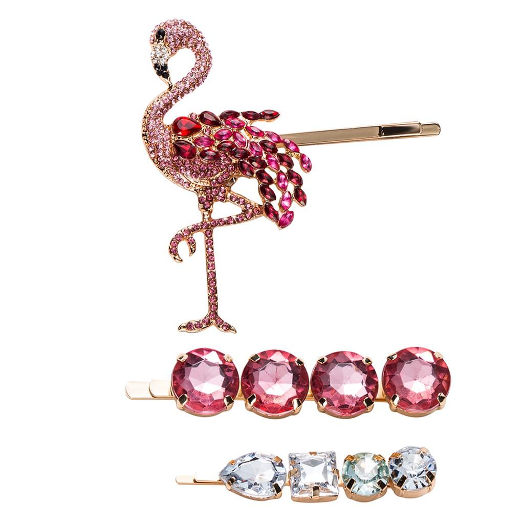 Flower Tassel Beads Ancient Chinese Cosplay Drama Barrette Alligator Clip