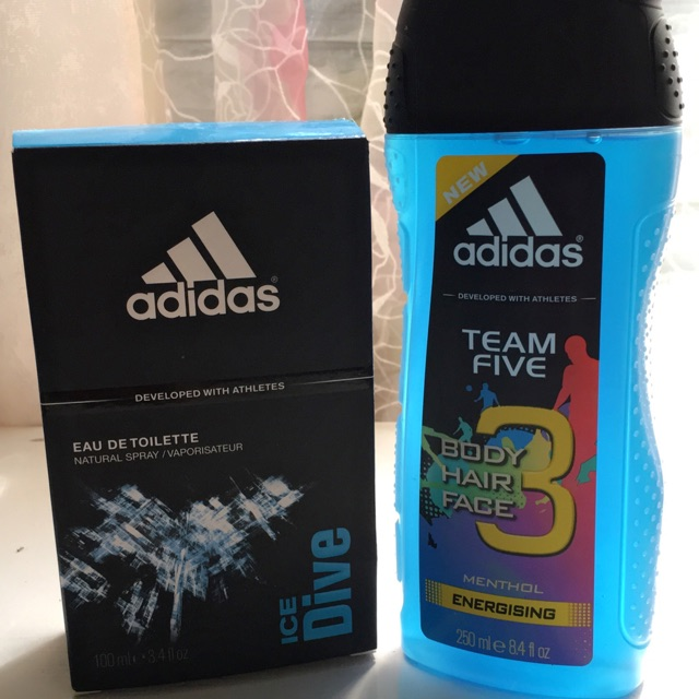 Adidas Perfume & Shower Gel