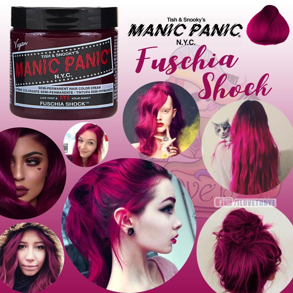 Fabulous Cotton Candy Pink ○ Manic Panic Hair Dye | Shopee Philippines #HC29