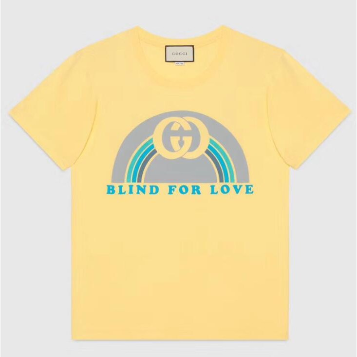 5142fe6a36d ProductImage. ProductImage. GUCCI casual plus size T-shirt loose letter  cotton tops