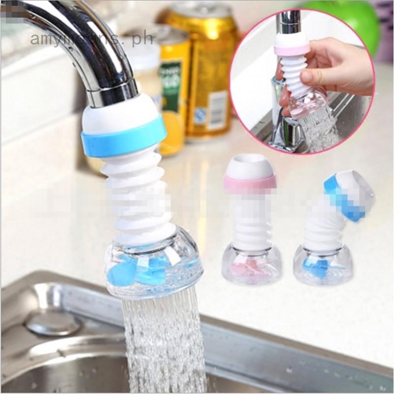 Kitchen Faucet Shower Anti Splash Filter Tap Water-saving Device Head