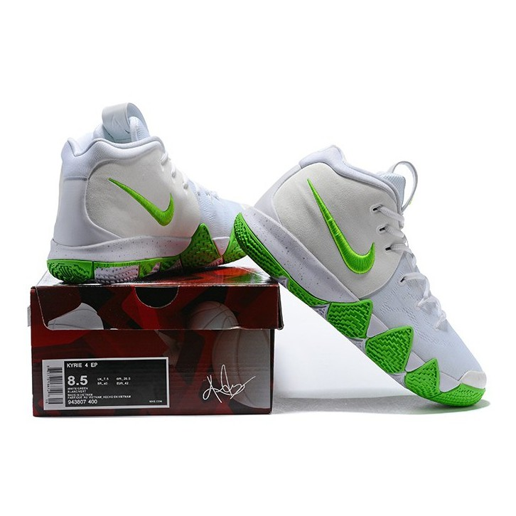 77a02bc45149 Nike Kyrie 4 White Glow In The Dark OEM Glorious Quality