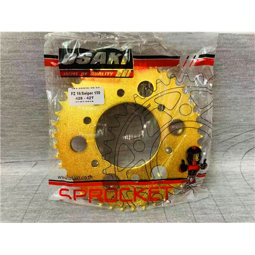 Osaki Revo Lucky Gold Sprocket Set FZ 16/ SNIPER 150