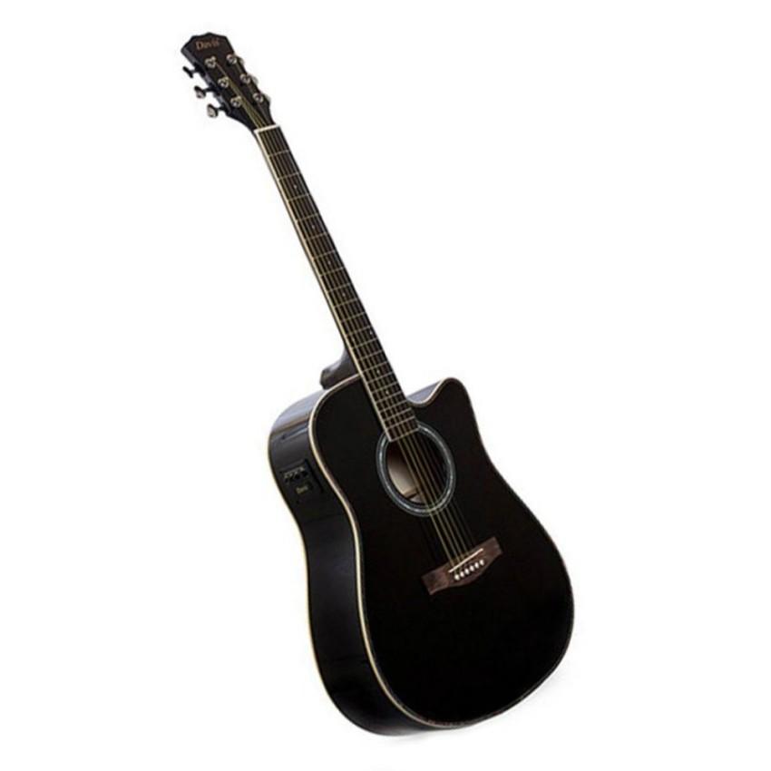 Davis Acoustic Guitar Da 4103 Eq T Black Shopee Philippines