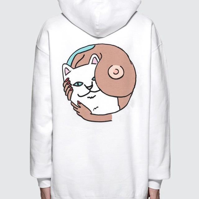 Cat Ear Girls Hoodie Sweatshirt Hooded Coat Tops Long Sleeve Blouse A *YW