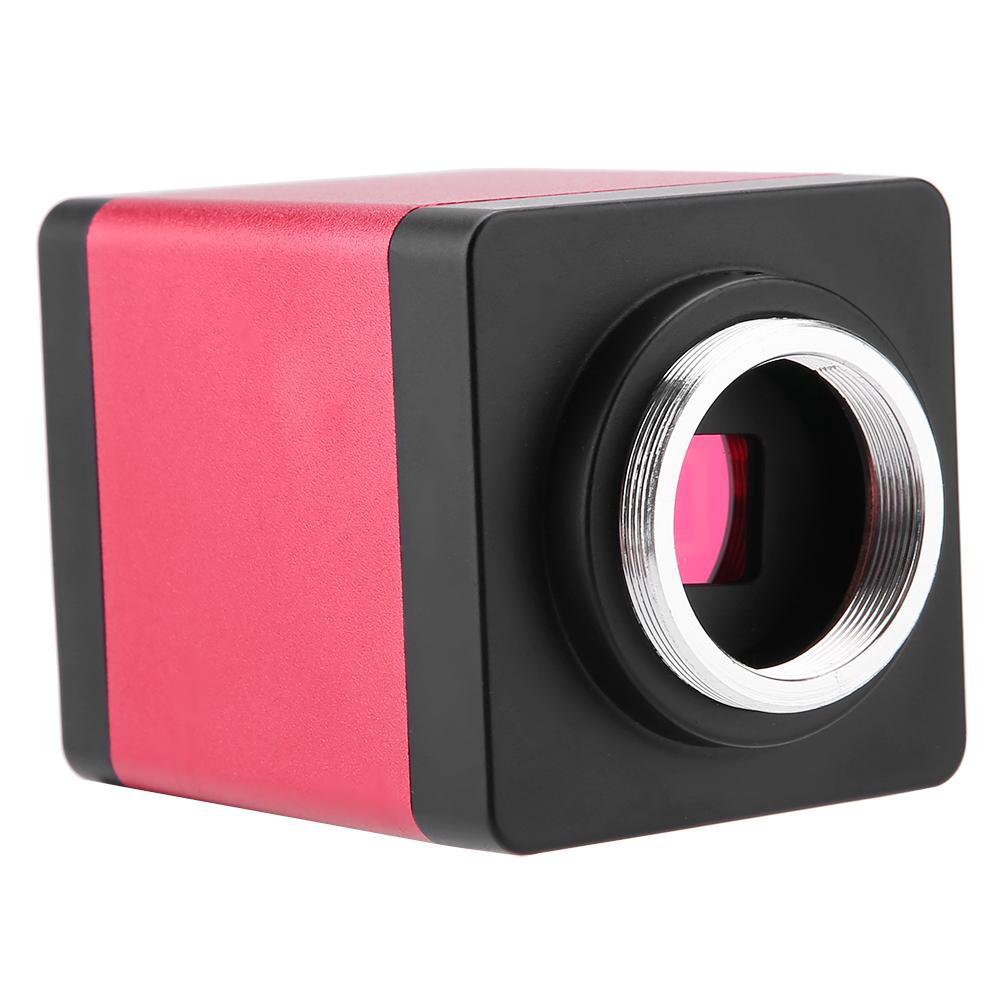 KP-200D 13MP 60F//S Black HDMI VGA Output Industry Microscope Camera 110V//220V US EU Plug EU Plug 220V