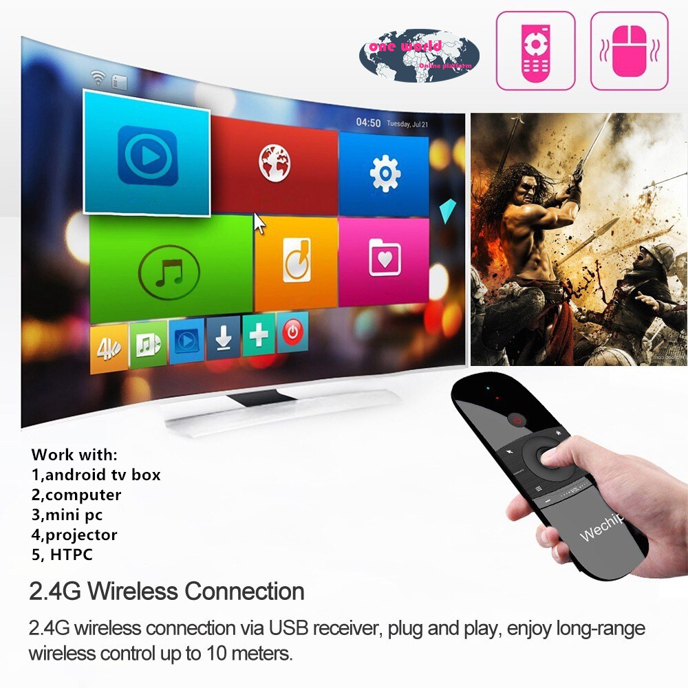 Mini 2 4G Air Mouse Wireless Keyboard IR Remote Tv Box | Shopee