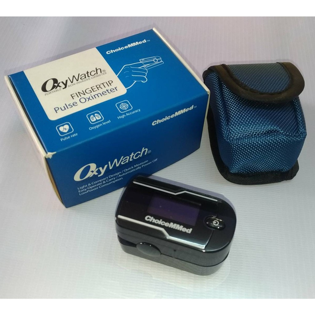 CHOICEMMED Adult Pulse Oximeter with Jelly Case   Shopee