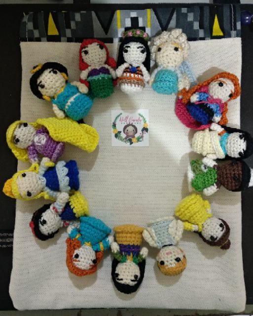 Disney-inspired amigurumi / Disney Princess inspired crochet | Etsy | 640x513