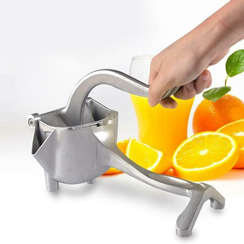 Removable Fruits Lemon Juicer Manual Handheld Squeezer Hand Press Scrub Tools