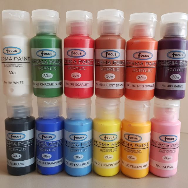 acrylic paint 30ml shopee philippines