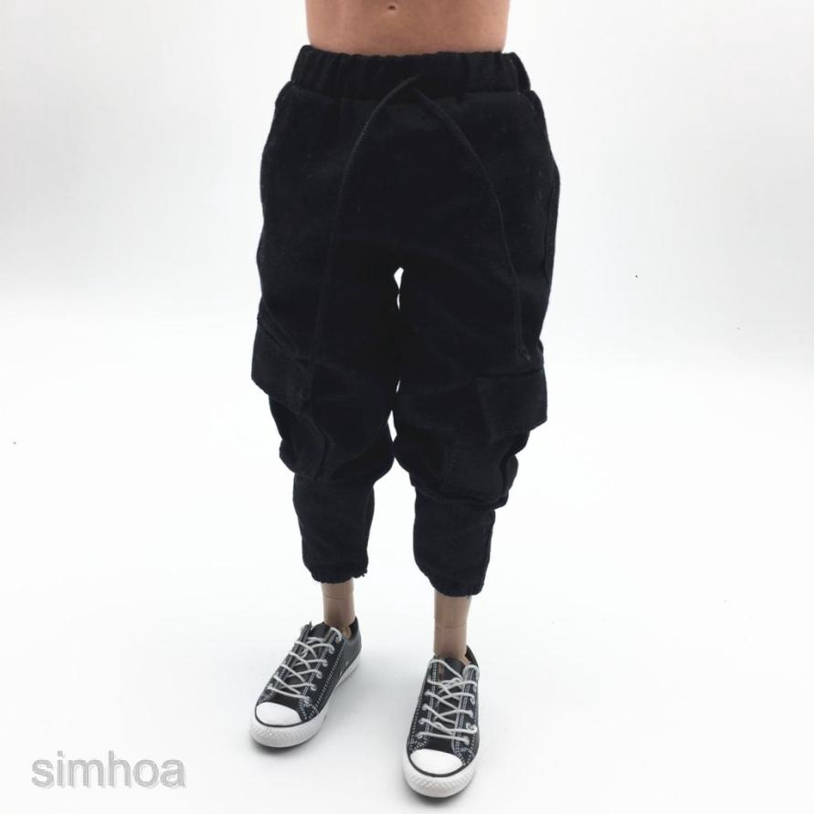 """1//6 Scale Female Clothes Pants Sweatpants for 12/"""" Action Figure Toys Doll"""