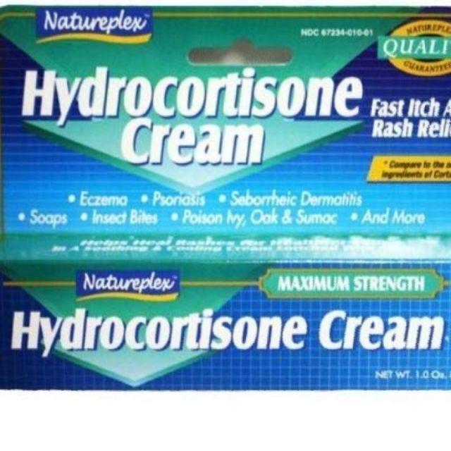 Natureplex Hydrocortisone Cream 1 oz