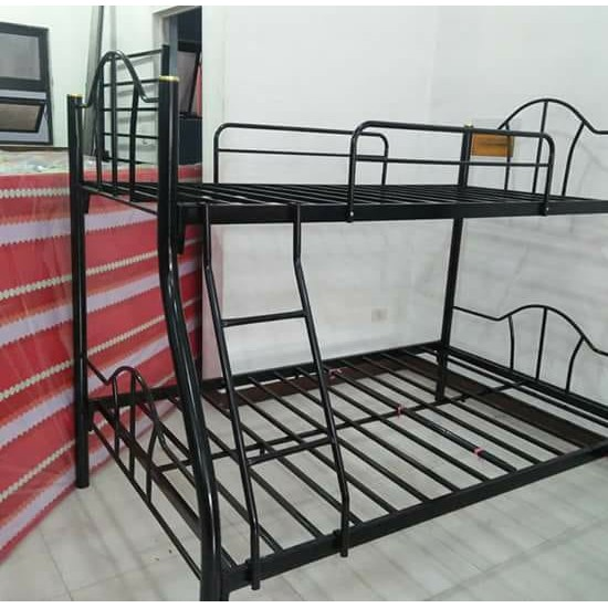 Double Deck Bunk Bed Frame Queen, What Is The Size Of Double Bed In Philippines