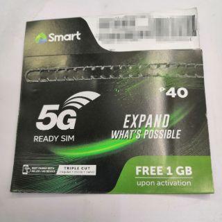 Original Globe or Smart Prepaid SIM Card 5G 4G LTE Triple Cut Simcard | Shopee Philippines
