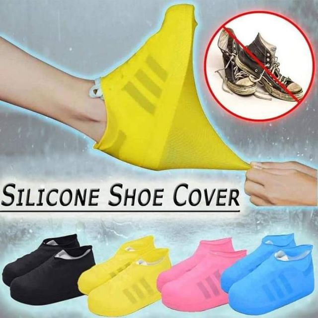 Silicone shoe cover WATER PROOF | Shopee Philippines