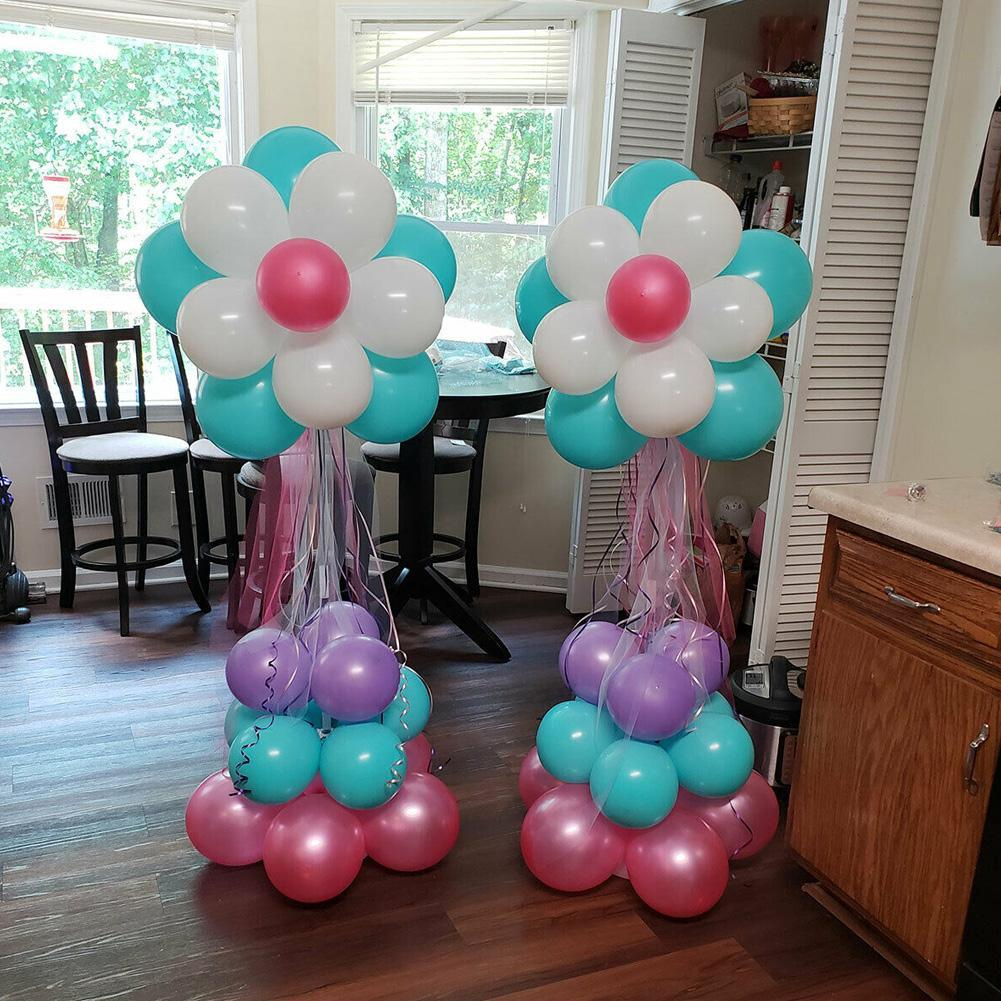 Plastic Balloon Arch Column Stand With Base For Wedding Birthday Party Decor