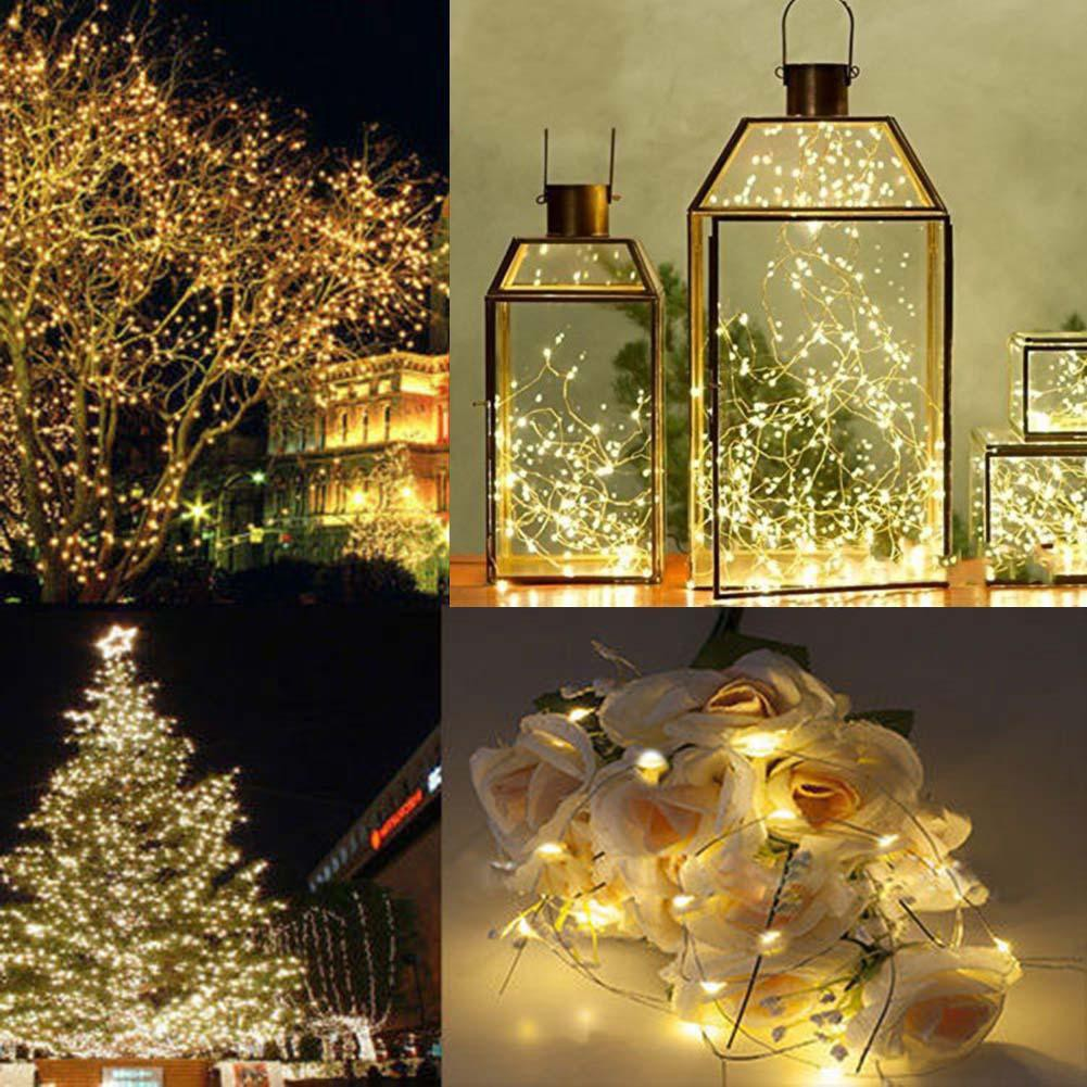 1x 2M 20 LED Battery Operated LED String Fairy Light