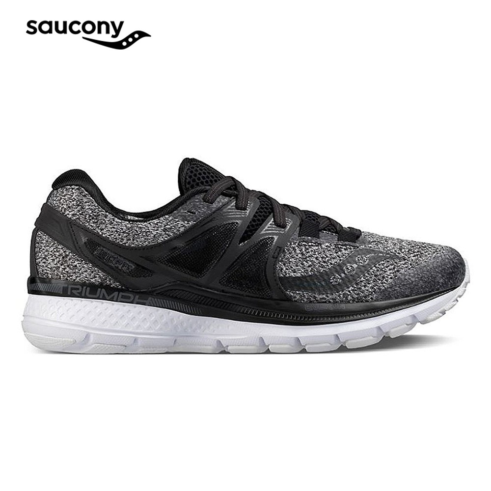 f6c4864b Saucony Mens Footwear Sneakers Triumph Iso 3 Marl Black (D0203610100)