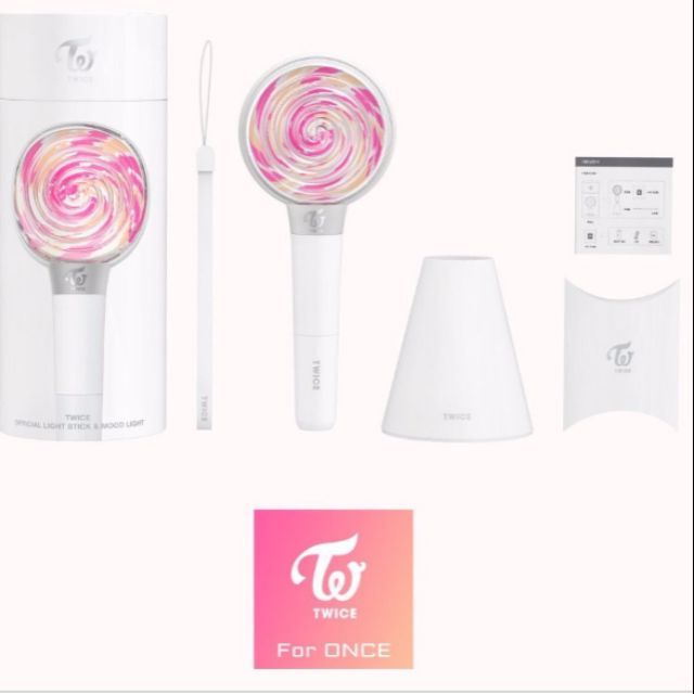TWICE - Candy Bong Official Light Stick
