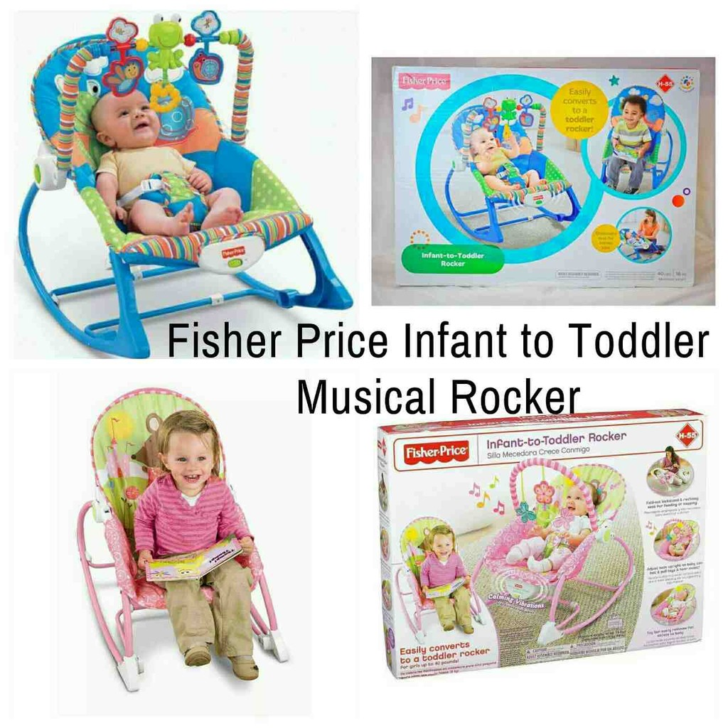 Fisher Price Infant To Toddler Rocker Frog And Snail