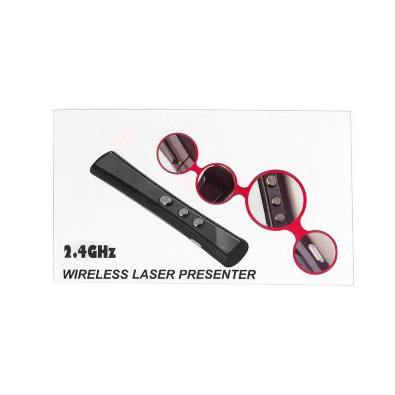 PP-900 Wireless PowerPoint Presentation USB Remote Control Laser PPT Clicker