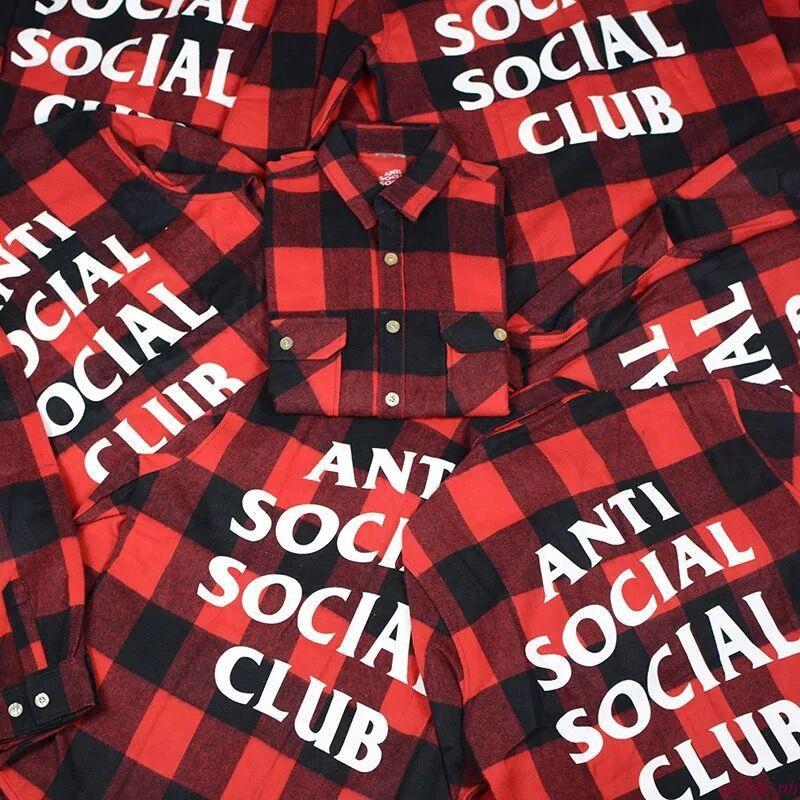556e79be7961 ASSC plaid shirt anti flannel shirt