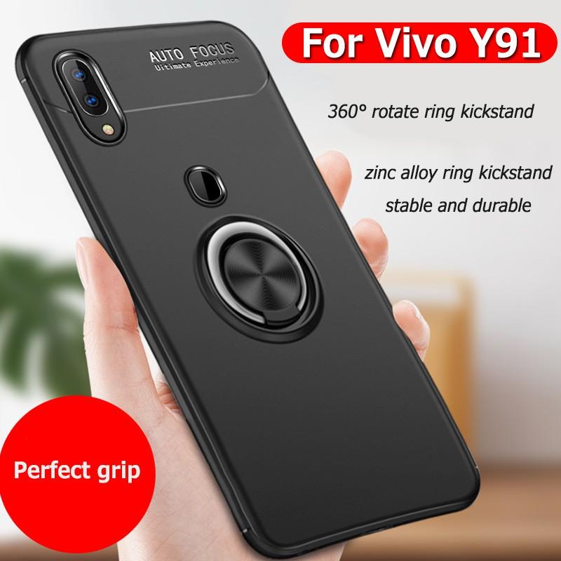 For VIVO Y91/Y91i/Y95 Car Holder Magnetic Stand Bracket Case